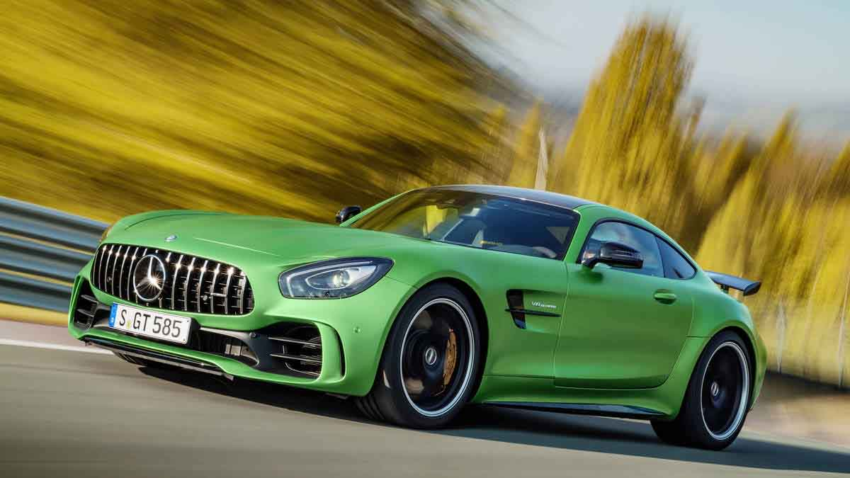 Mercedes-Benz AMG GT-R And AMG GT Roadster Launched In India