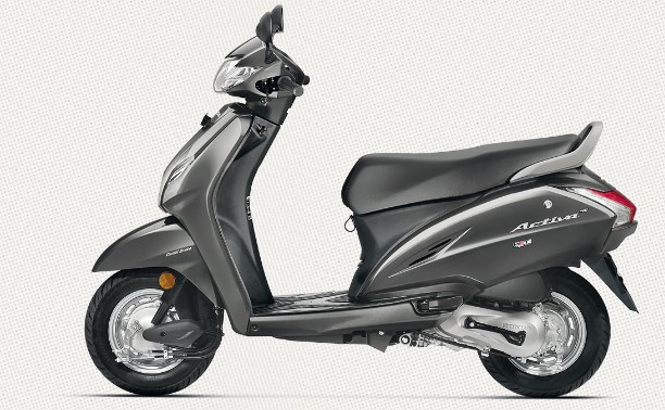 The New Matte-Grey Colored Honda Activa 4G Launched | Automobs India