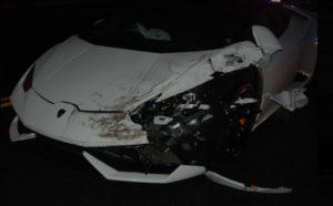 Huracan crash