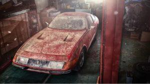 Ferrari Daytona Auction
