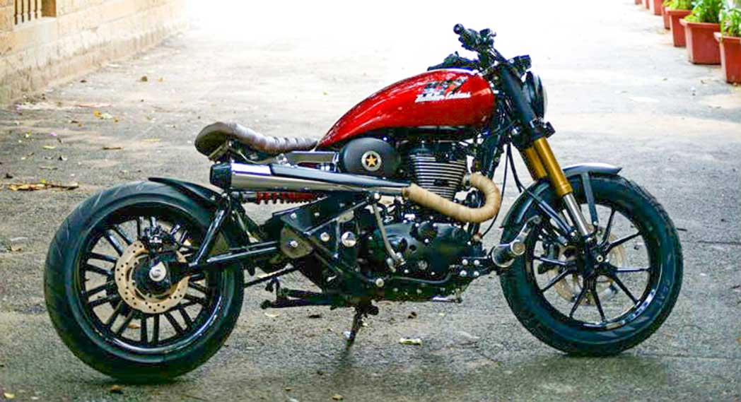 Top 8 Most Stunning Custom Modified 2020 Royal Enfield Bullet Motorcycles