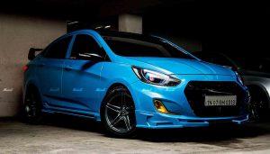 2018 Hyundai Verna Modified