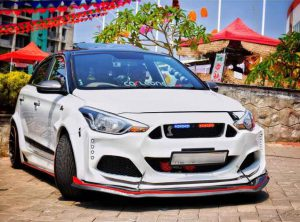Hyundai Elite i20 Modified Mustang