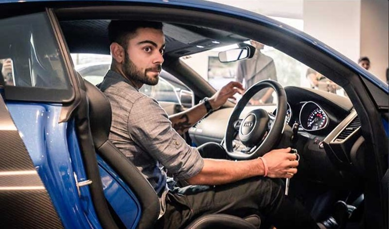 Viral Kohli's Cars: Inside the Indian Captain's Posh and Lavish Car Garage 2018