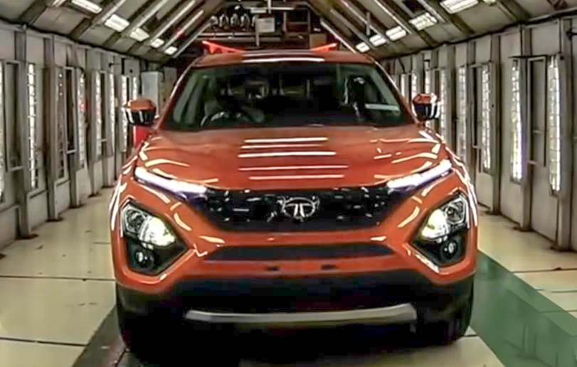 Tata harrier first impressions front side