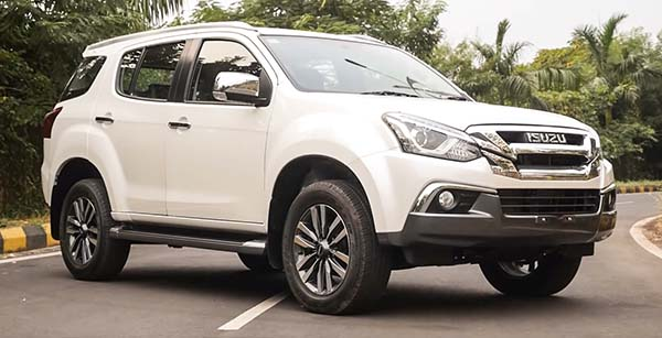 2018 Isuzu MU-X Facelift First Look Review – What's new? All Details and Images Inside
