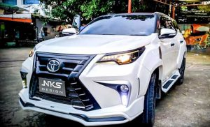 Toyota fortuner modified 2018 snowie3