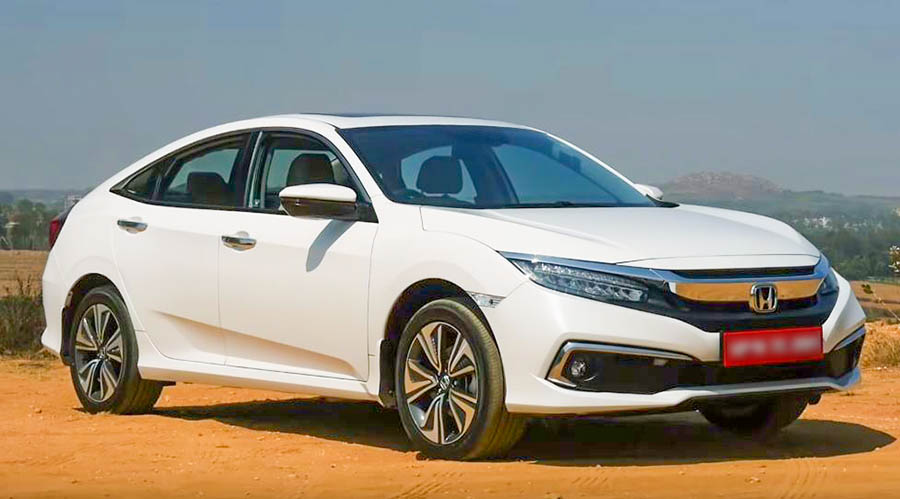 2019 Honda Civic Review Exterior front