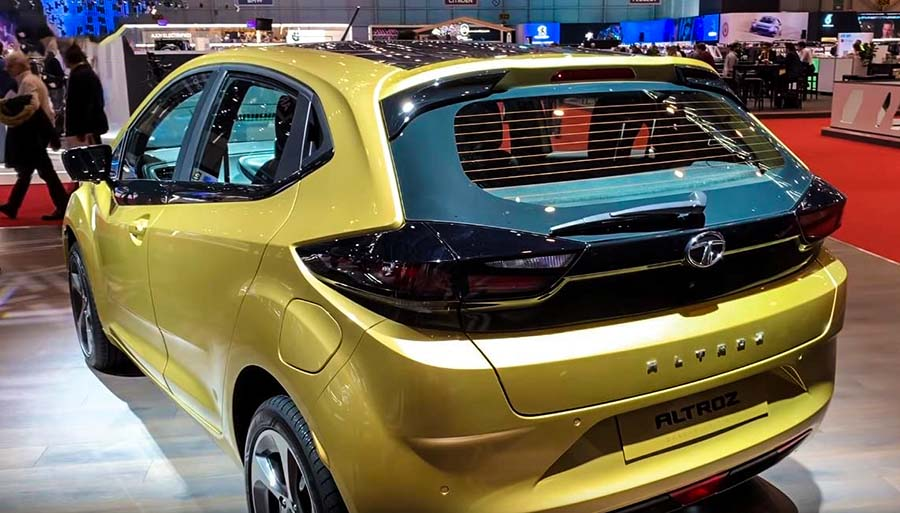 2019 Tata Altroz Rear Profile