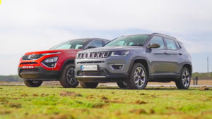 tata harrier vs jeep compass 2020